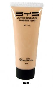<b>BYS Liquid Foundation with SPF15 - Buff</b>
